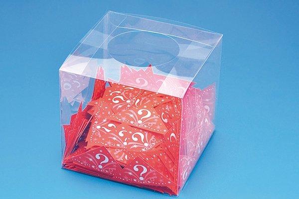 透明抽選箱
