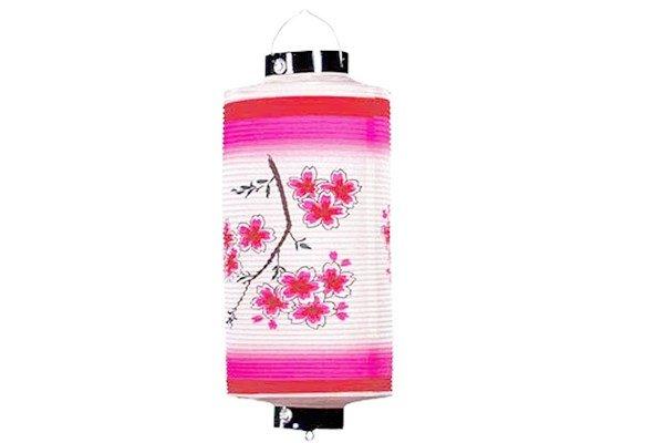 画像1: 枝桜提灯 (1)