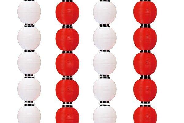 画像1: ポリ提灯八丸シリーズ100個セット (1)