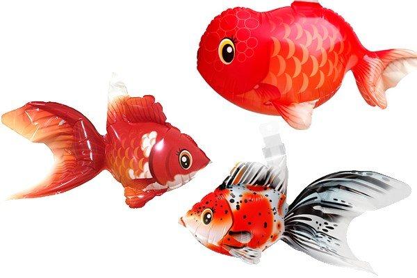 画像1: 金魚風船10枚 (1)