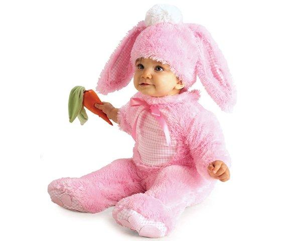 画像1: 着ぐるみベビーウサギ (1)
