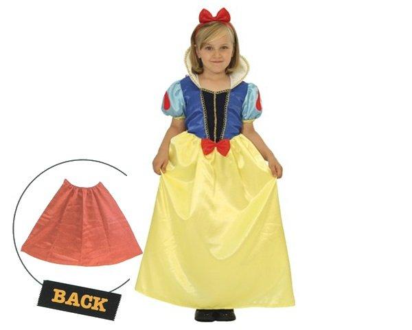 画像1: 白雪姫子供コスチューム (1)