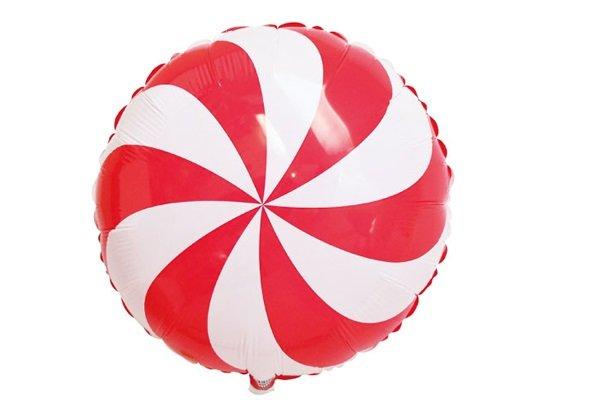 画像1: ペパーミントキャンディ風船5枚 (1)