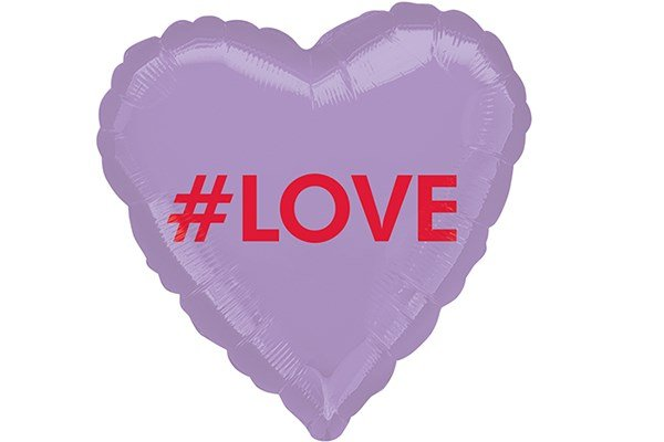 画像1: #LOVE風船5枚 (1)