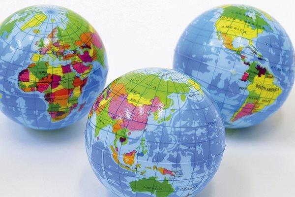 画像1: 地球型PUボール25個 (1)