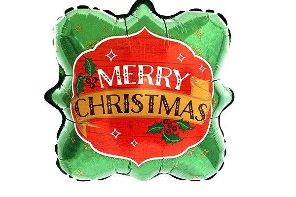 画像1: ビンテージクリスマス風船(5枚) (1)