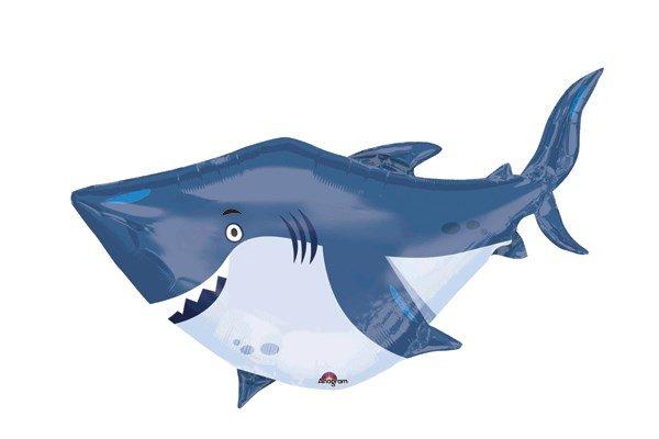 画像1: サメ風船(5枚) (1)
