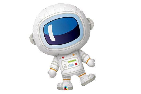 画像1: 宇宙飛行士風船5枚 (1)