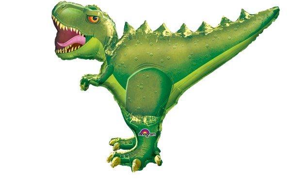 画像1: ティラノサウルス風船1枚 (1)