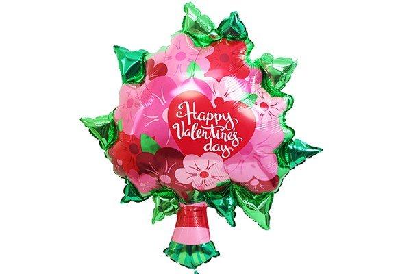 画像1: バレンタインブーケ風船(5枚) (1)